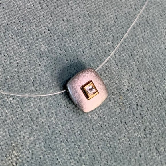 💐2 for $15 EUC Avon Necklace Floating Pendant